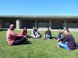 CEHG Outreach team at Eastside College Prep in East Palo Alto